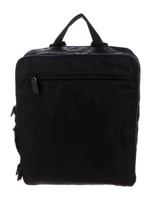 Prada Tessuto Nylon Backpack Black