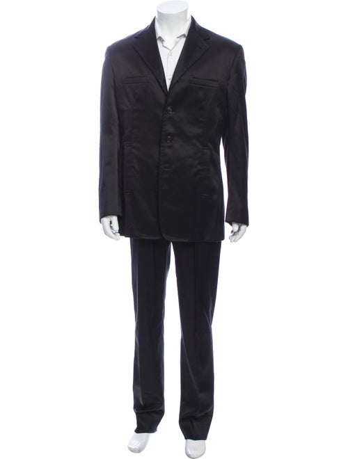 Prada Two-Piece Suit Black