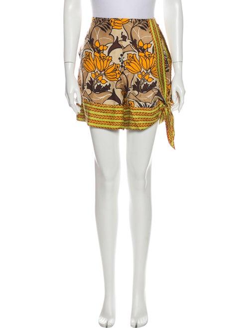 Prada Silk Mini Shorts