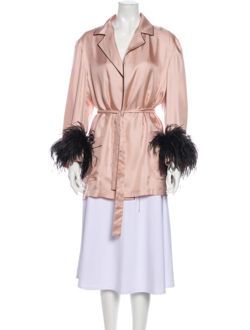 Prada Silk Robe w/ Tags Pink