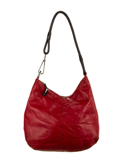 Prada Nappa Hobo Red