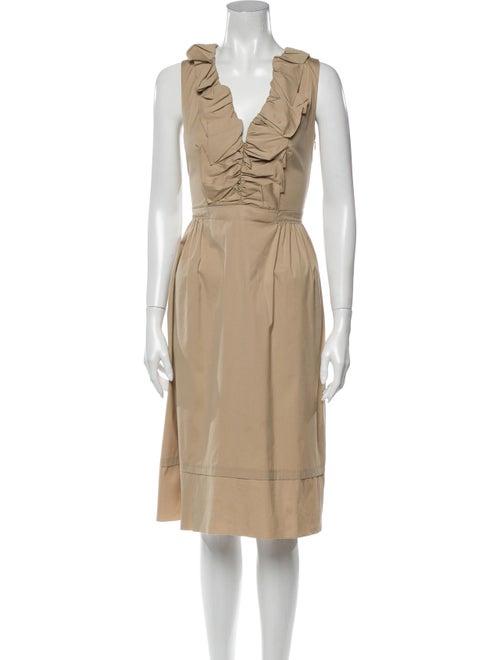 Prada 2007 Midi Length Dress