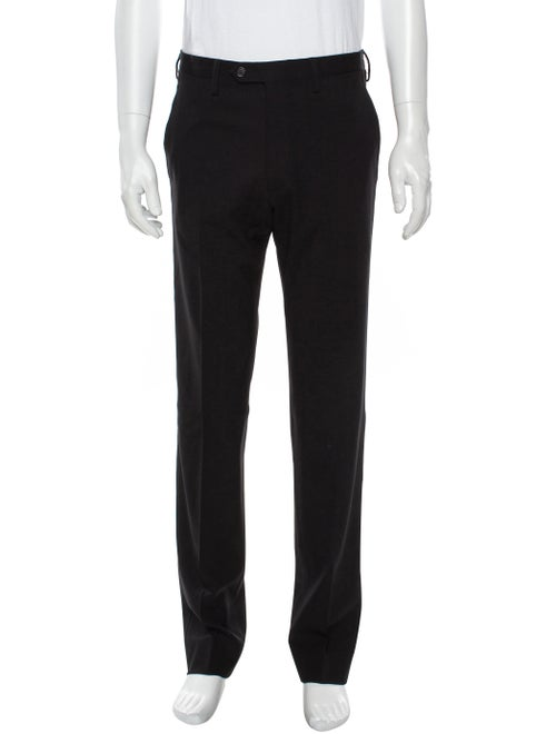 Prada Fleece Wool Dress Pants Wool