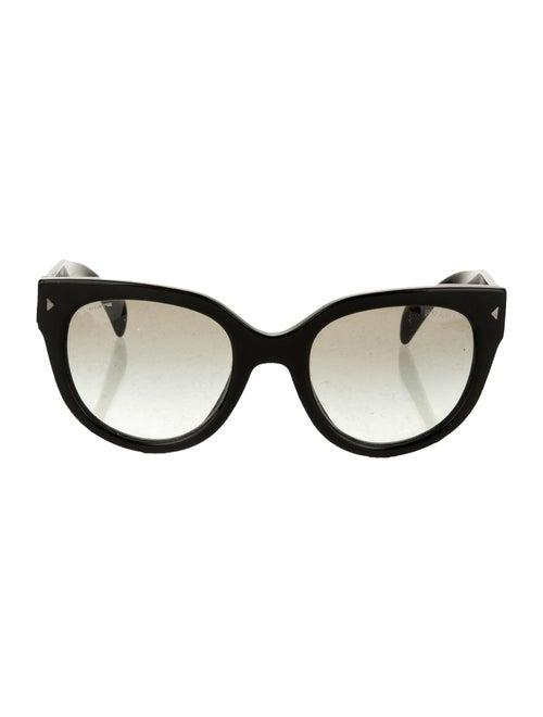 Prada Oversize Gradient Sunglasses Black
