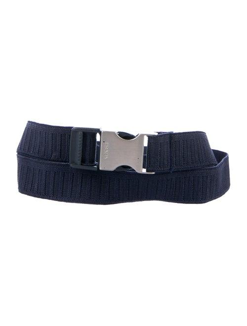 Prada Elastic Waist Belt Navy
