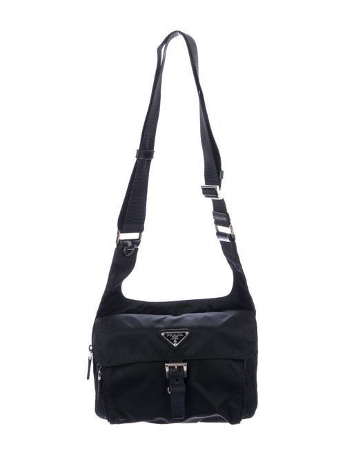 Prada Tessuto Nylon Crossbody Bag Nero