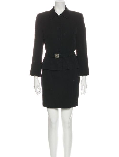 Prada Wool Skirt Suit Wool