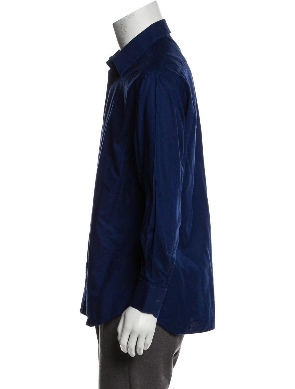 Prada Woven Button-Up Shirt - image 2