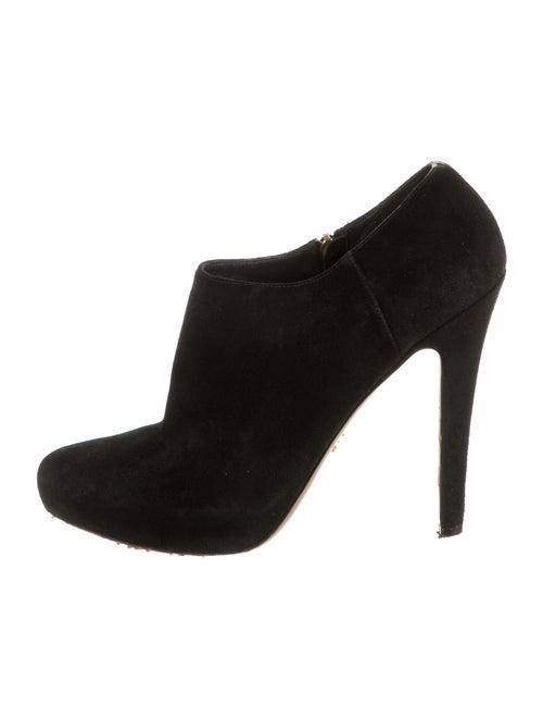 Prada Suede Boots Black