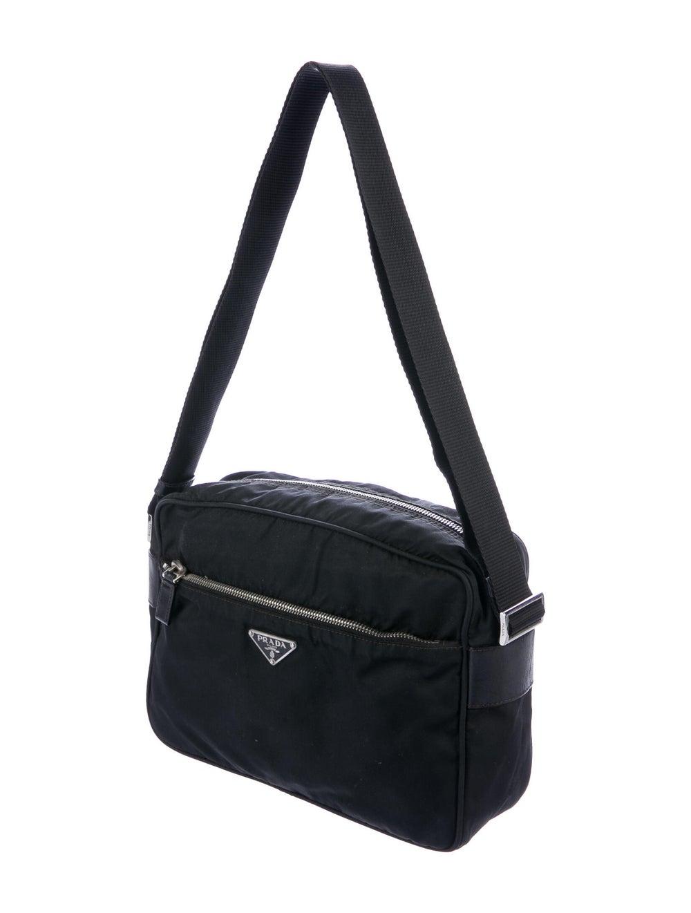Prada Tessuto Crossbody Bag Black - image 3