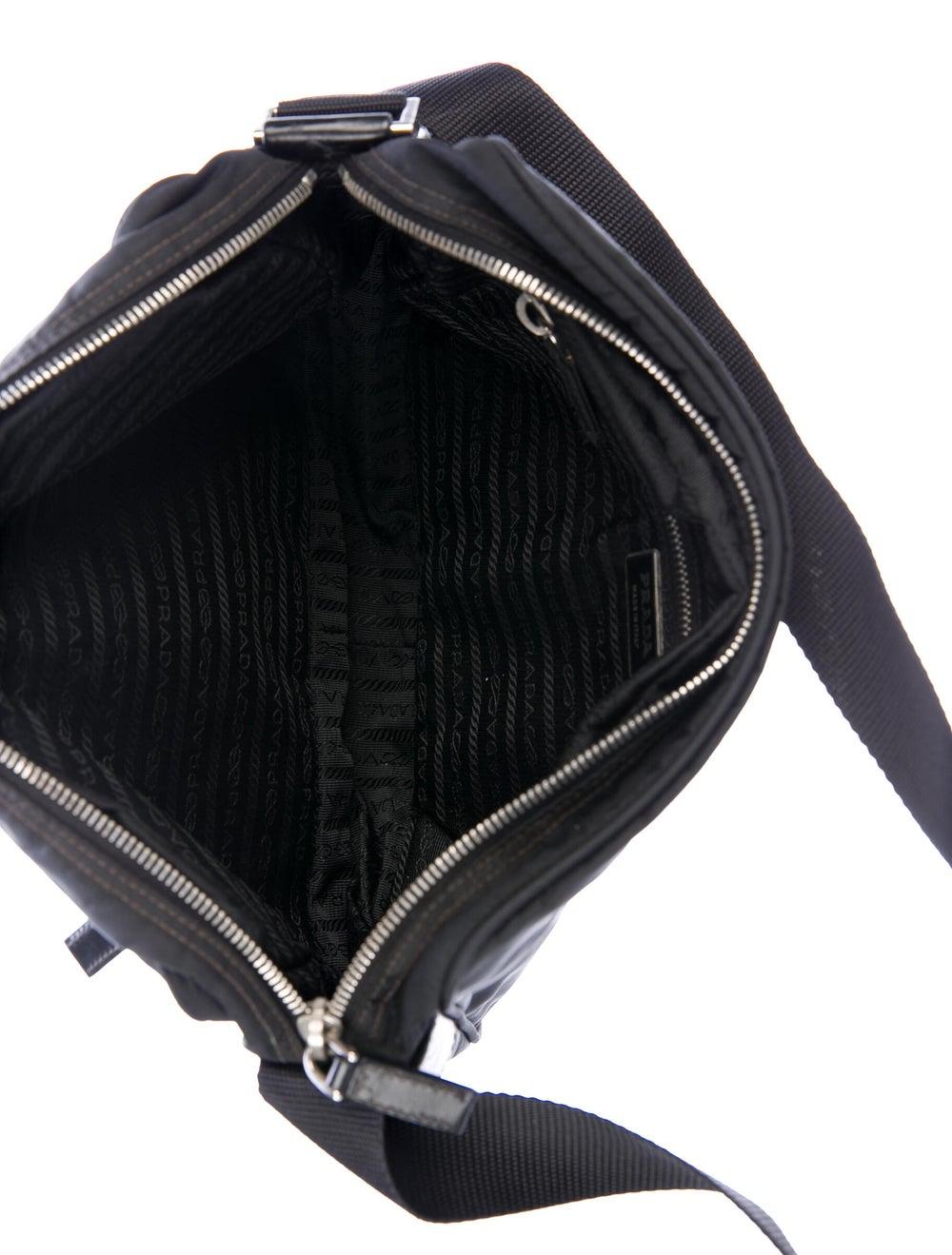 Prada Tessuto Crossbody Bag Black - image 5