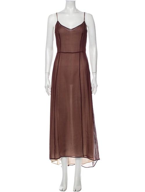 Prada Silk Knee-Length Dress