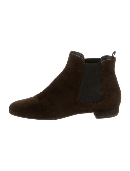 Prada Chelsea Boots Brown