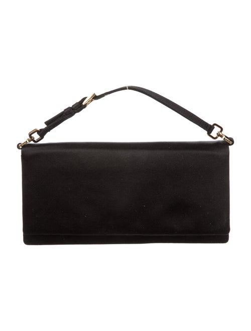Prada Vintage Raso Evening Bag Black