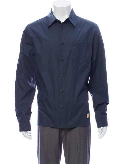 Prada Long Sleeve Shirt Blue