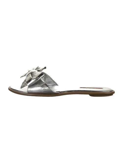 Prada Slides Silver
