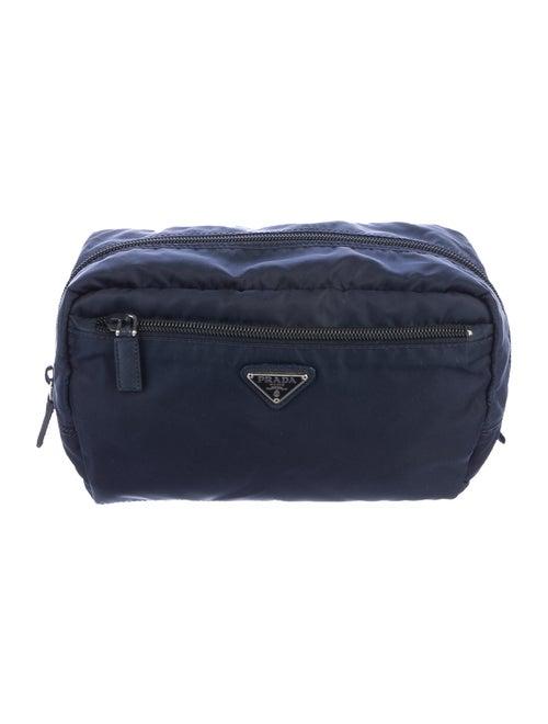 Prada Nylon Cosmetics Bag Navy