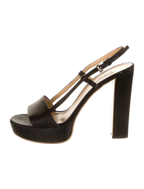 Prada Slingback Sandals Black