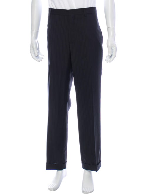 Prada Virgin Wool Dress Pants Wool