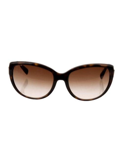 Prada Gradient Round Sunglasses