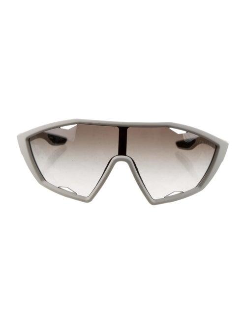 Prada Gradient Shield Sunglasses White