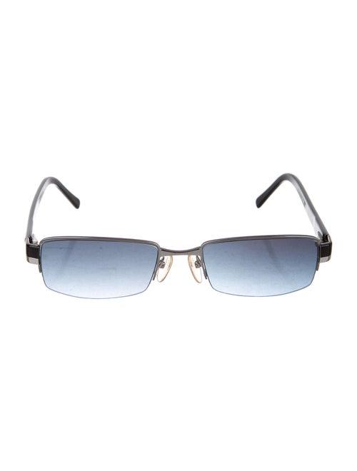 Prada Narrow Square Sunglasses black