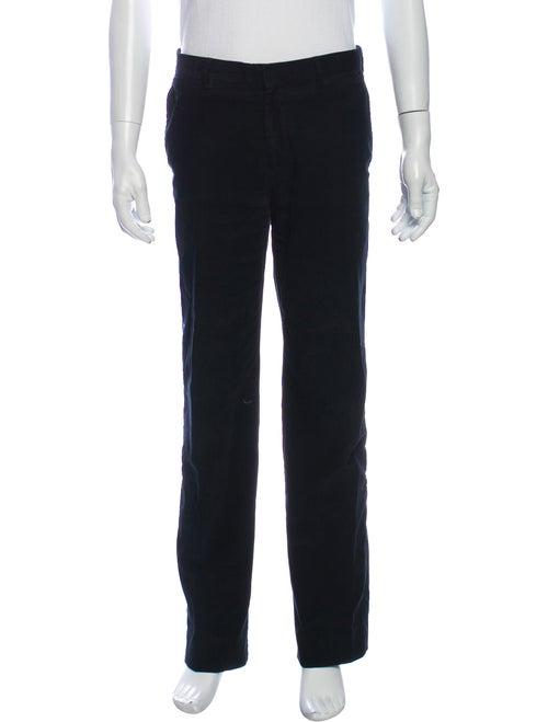 Prada Corduroy Pants Blue