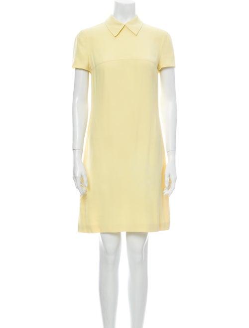 Prada Mini Dress Yellow