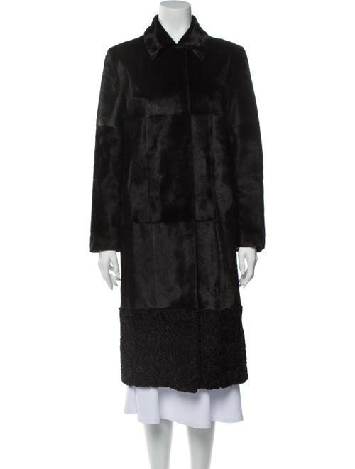 Prada Fur Coat Black