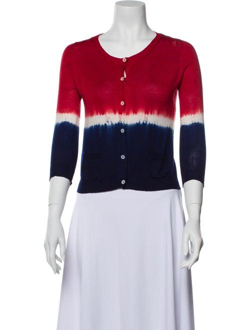 Prada Wool Striped Sweater Wool