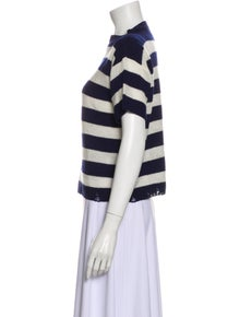Prada Wool Striped Sweater