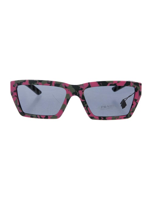 Prada Square Tinted Sunglasses Pink