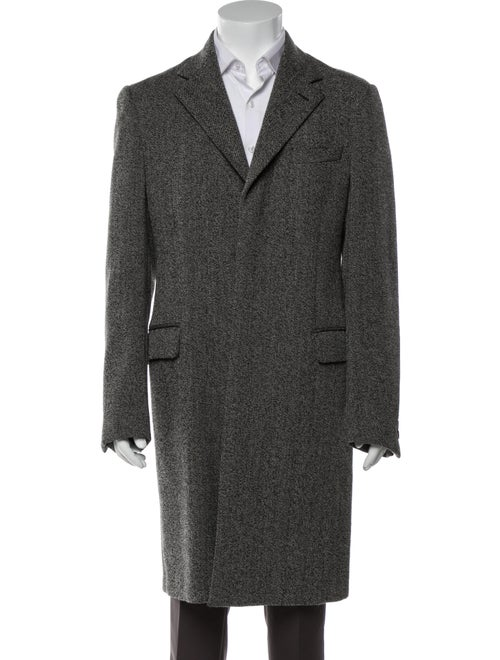 Prada Wool Peacoat Wool