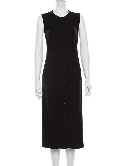 Prada Wool Midi Length Dress Wool