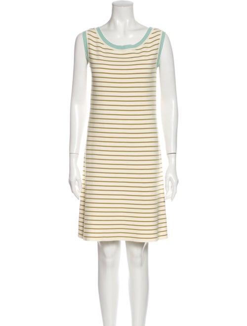 Prada Striped Mini Dress