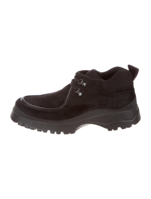 Prada Ponyhair Boots Black