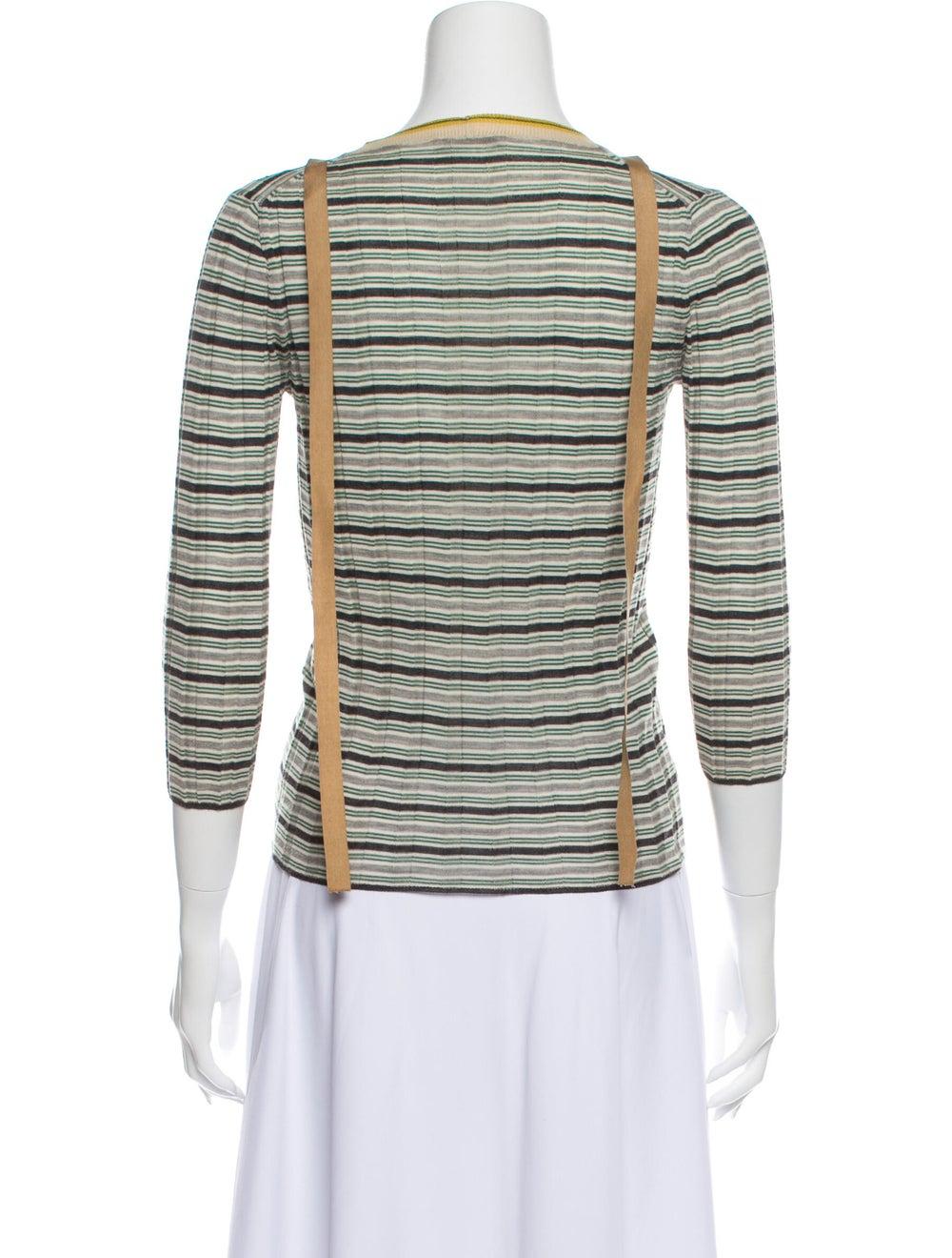 Prada Wool Striped Sweater Wool - image 3