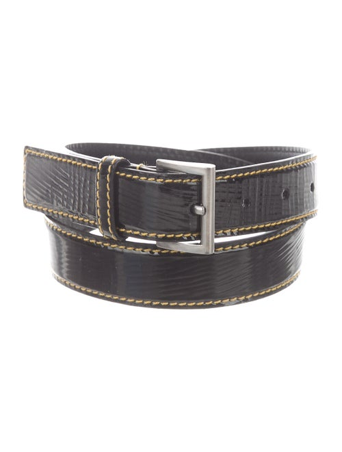 Prada Patent Leather Hip Belt Black