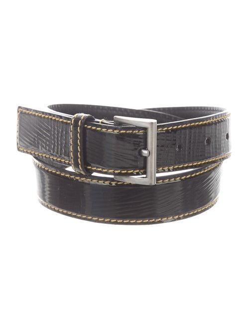 Prada Patent Leather Hip Belt Black