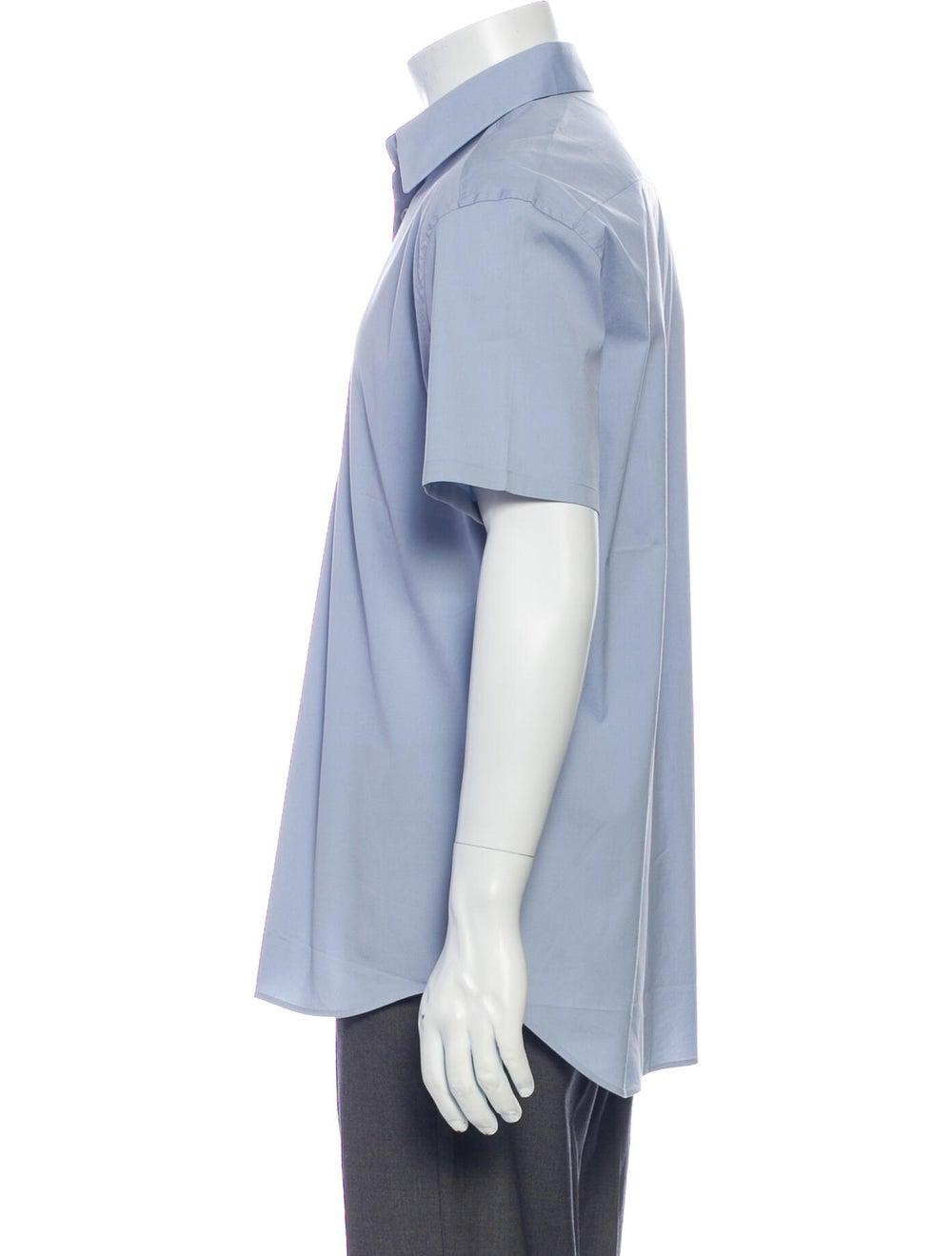 Prada Short Sleeve Shirt Blue - image 2