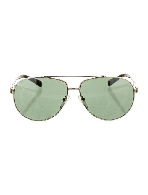 Prada Tinted Aviator Sunglasses gold