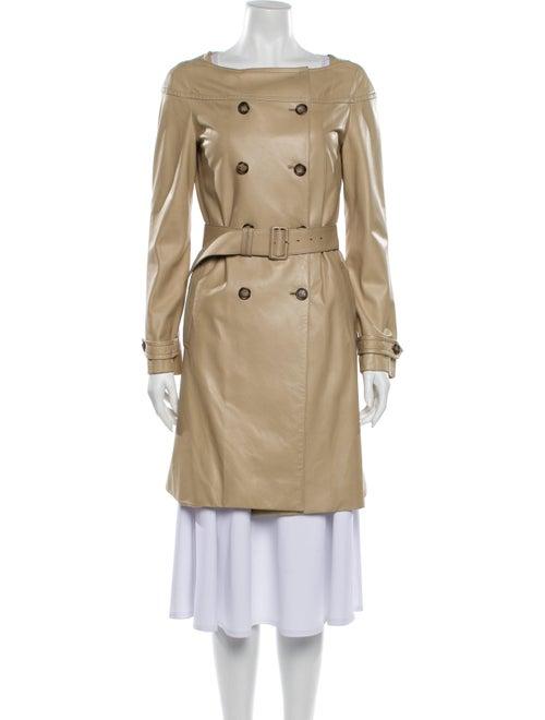 Prada Leather Trench Coat