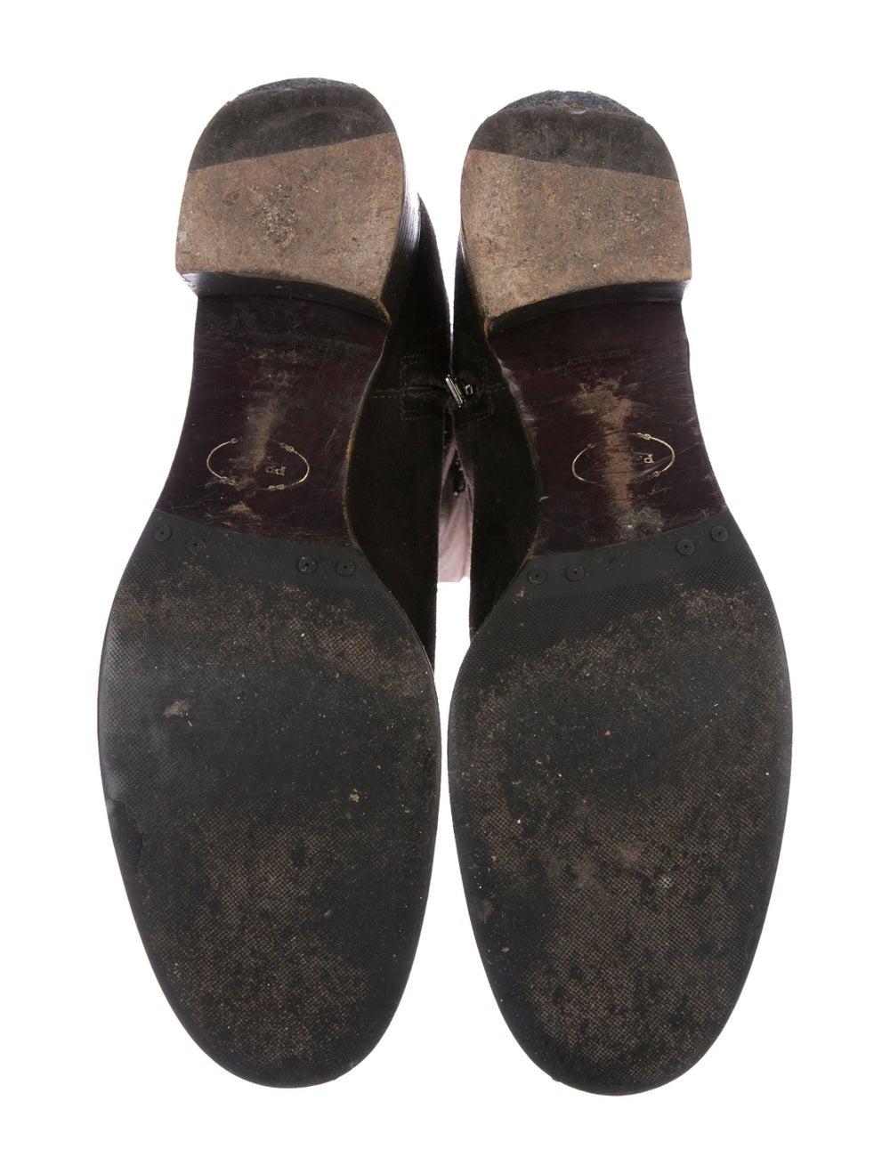Prada Suede Knee-High Boots - image 5