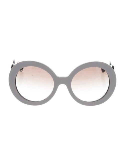 Prada Baroque Gradient Sunglasses Grey