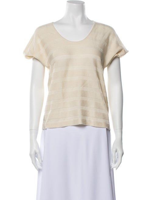 Prada Scoop Neck Short Sleeve T-Shirt