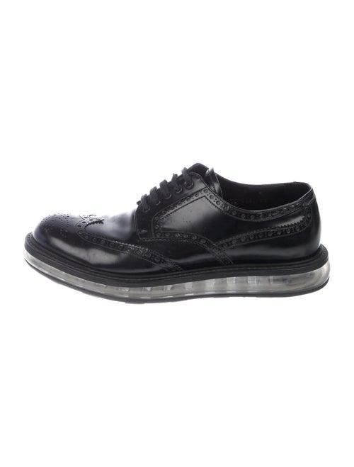 Prada Brogue Derby Shoes black