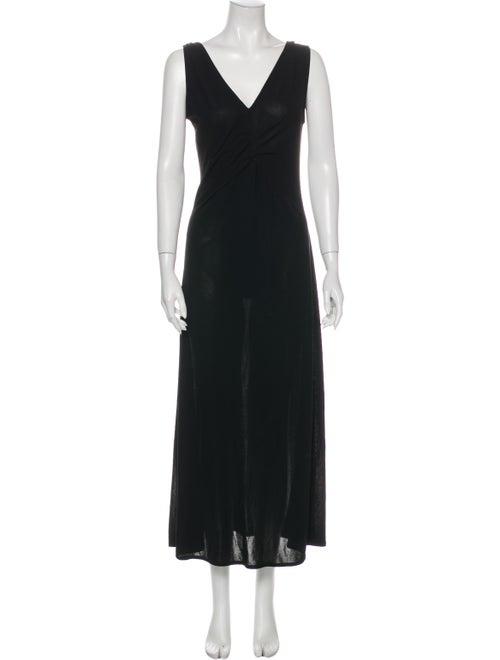 Prada 2007 Long Dress Black