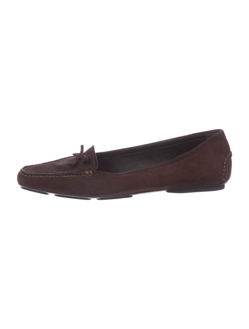Prada Suede Loafers Brown