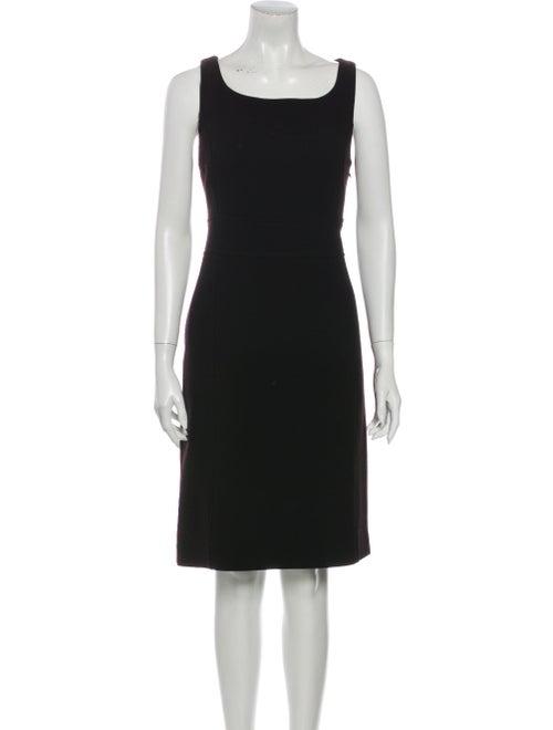 Prada 2014 Knee-Length Dress Wool