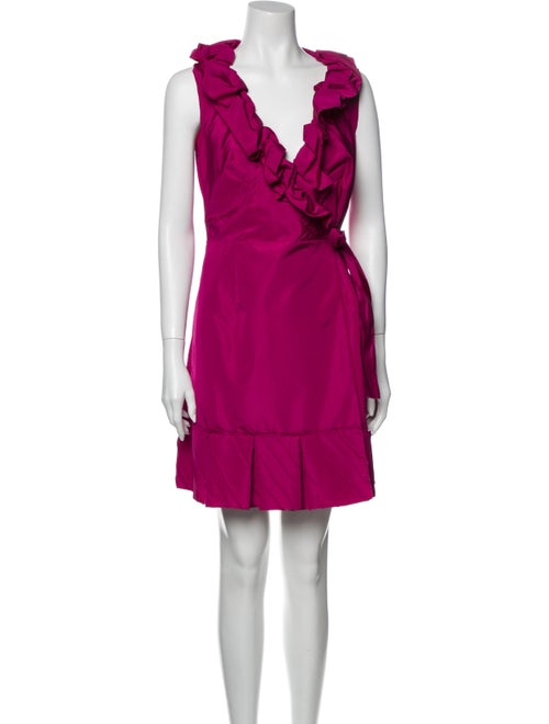 Prada 2008 Mini Dress Pink